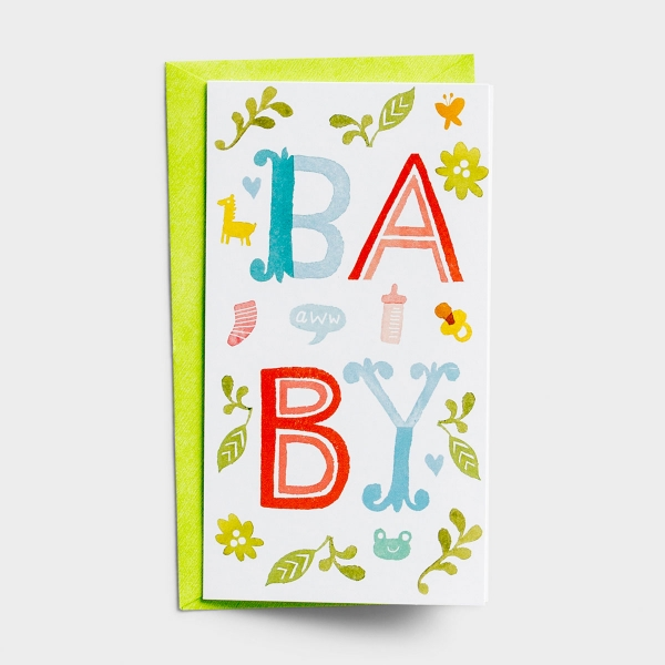 Little Inspirations - Baby Congratulations - 6 Cards Per Pack