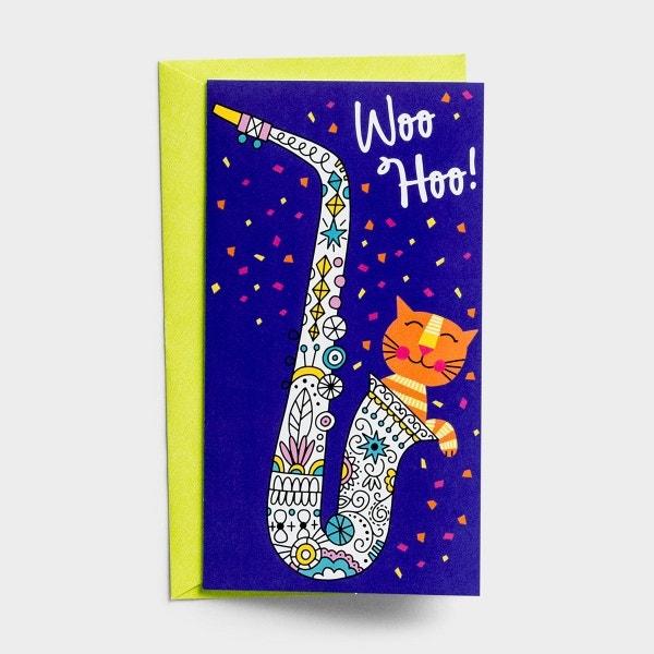 Little Inspirations - Congratulations - Woo Hoo - 6 Cards Per Pack