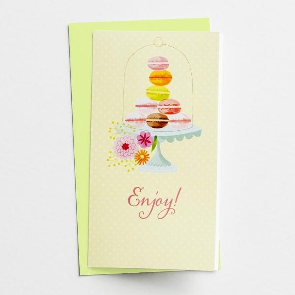 Little Inspirations - Birthday - Enjoy - 6 Cards Per Pack