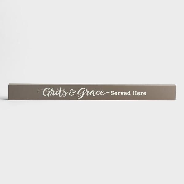 Grits & Grace - Long Wooden Block