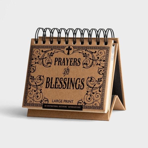 Prayers and Blessings - Large Print - Perpetual Calendar