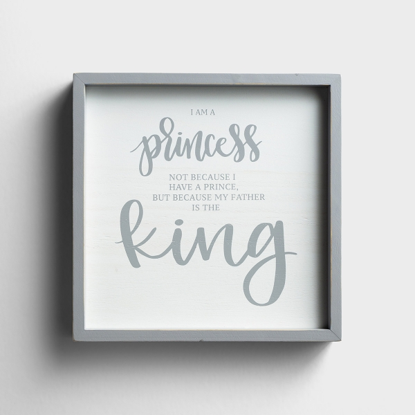 Father is a King - Framed Wall Art
