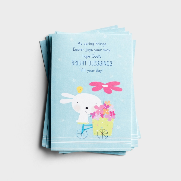 Easter - Bright Blessings - 8 Note Cards