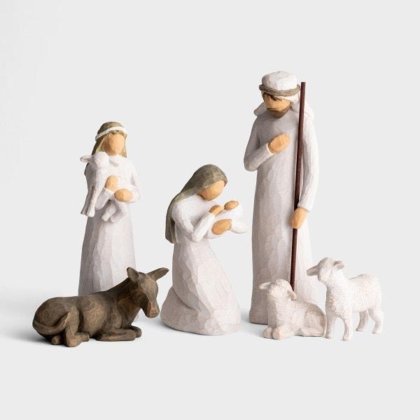 Awe and Wonder - Willow Tree Nativity