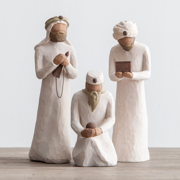 Willow Tree 6-Piece Nativity - The Three Wisemen image