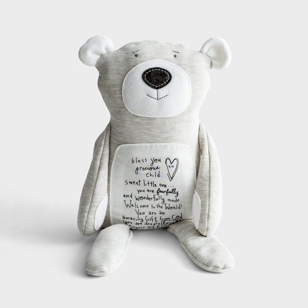Welcome to the World - Inspirational Teddy Bear