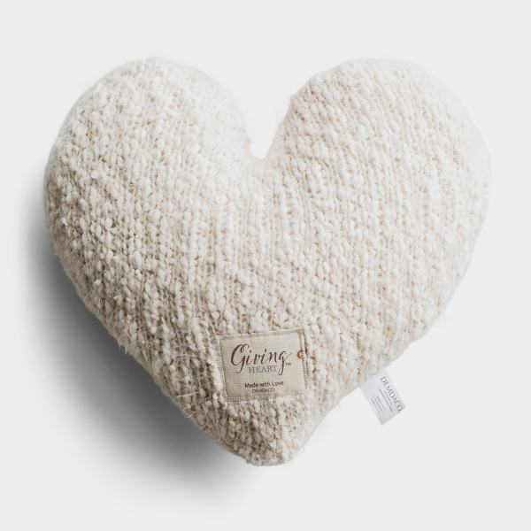Made with Love - Weighted Giving Heart