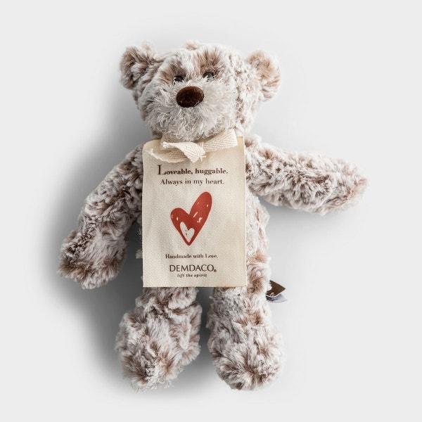 Loveable, Huggable - Mini Plush Giving Bear