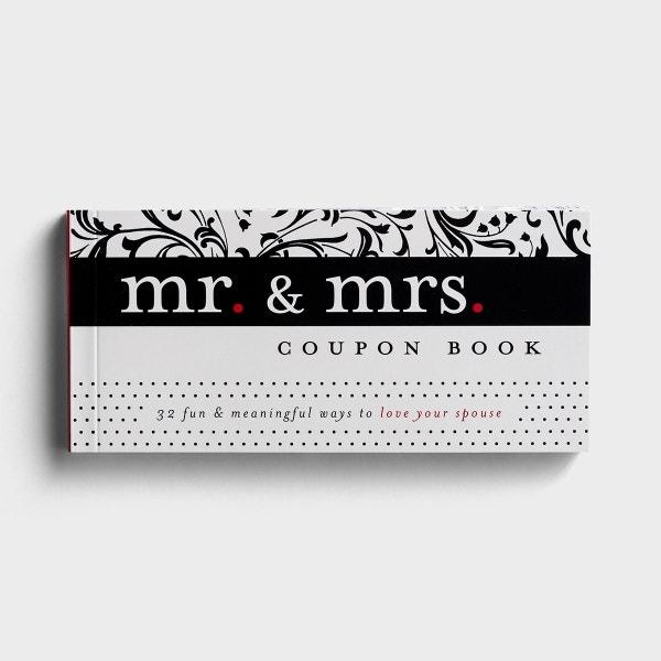 Mr. & Mrs. - Coupon Book