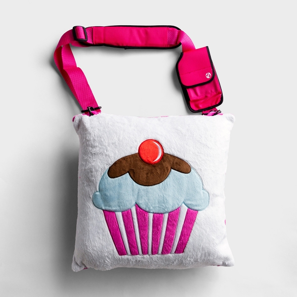 Taste and See - Plush Cushion Travel Pillow