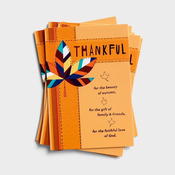 Thanksgiving - Thankful - 6 Note Cards