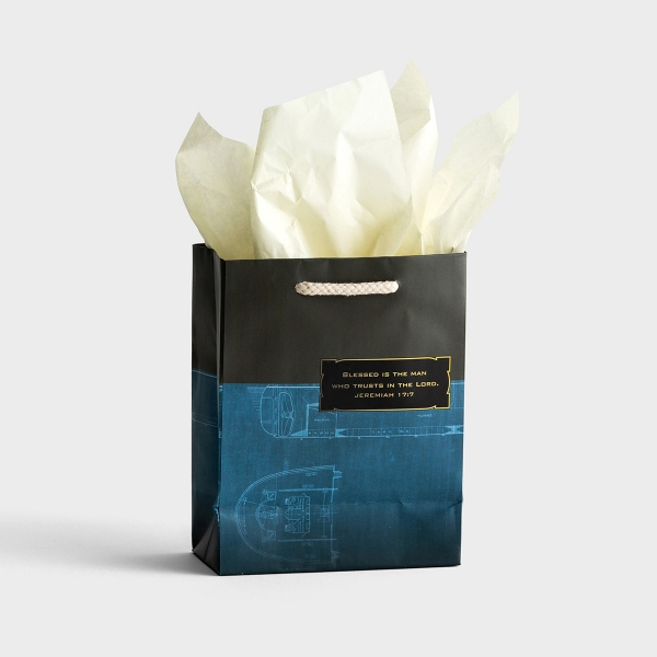 Blessed Man - Small Gift Bag with Tissue