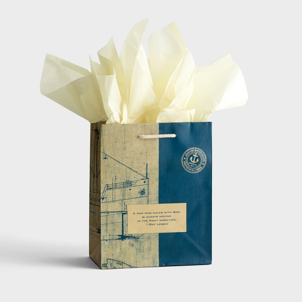 Right Direction - Medium Gift Bag with Tissue
