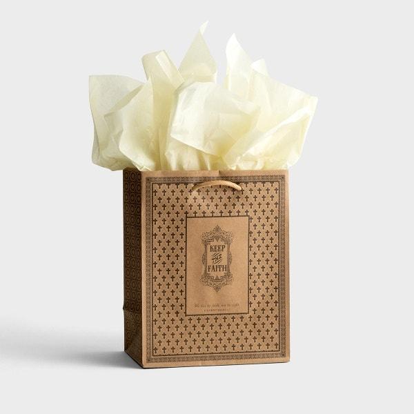 Keep the Faith - Medium Gift Bag with Tissue