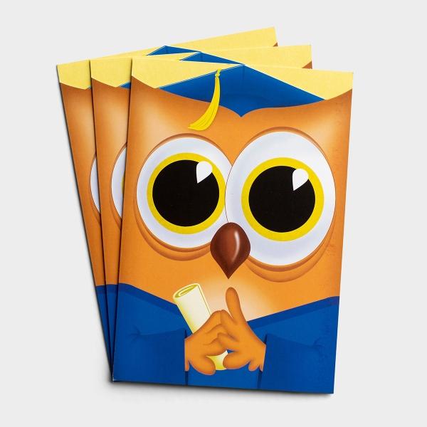 Graduation - Woo Hoo Hoo - 3 Premium Cards