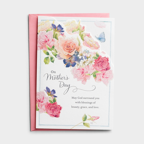 Nature's Blessing - Mother's Day - Beauty, Grace, and Love - 1 Premium Card