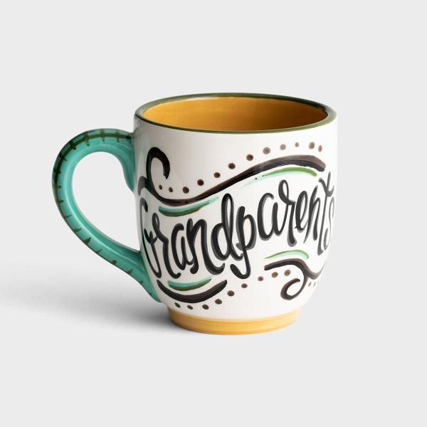 Grandparents Make Life Grand - Jumbo Mug