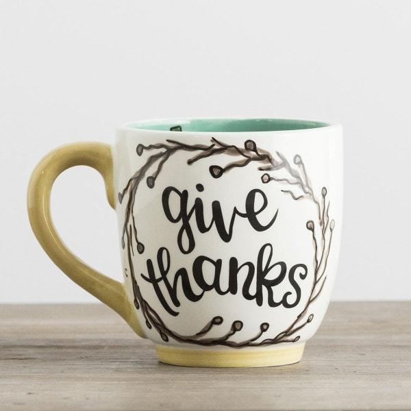 Give Thanks - Jumbo Mug