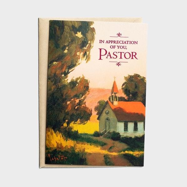Ministry Appreciation - In Appreciation - Pastor - 1 Premium Card