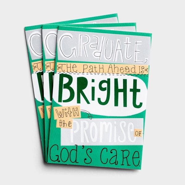 Graduation - The Path Is Bright - 3 Premium Cards