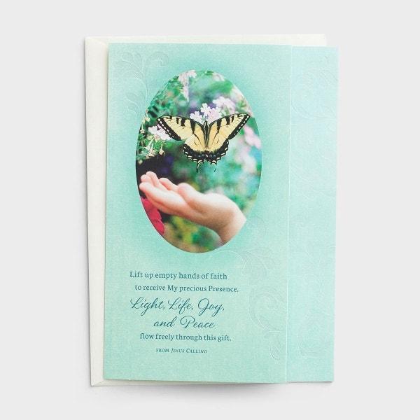 Jesus Calling - Difficult Time - Empty Hands -3 Premium Cards