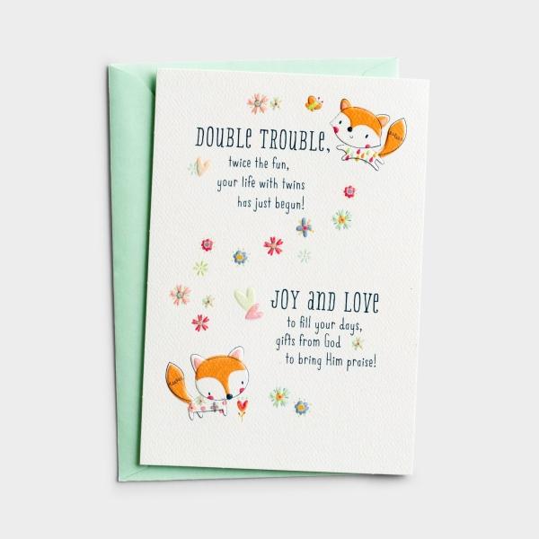 Baby - Twins - 1 Premium Card