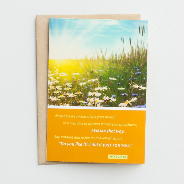 Max Lucado - Birthday - Just for You - 6 Premium Cards