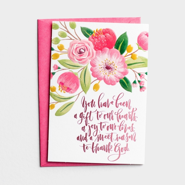 Mother's Day - Daughter - A Gift To Our Hearts - 1 Premium Card