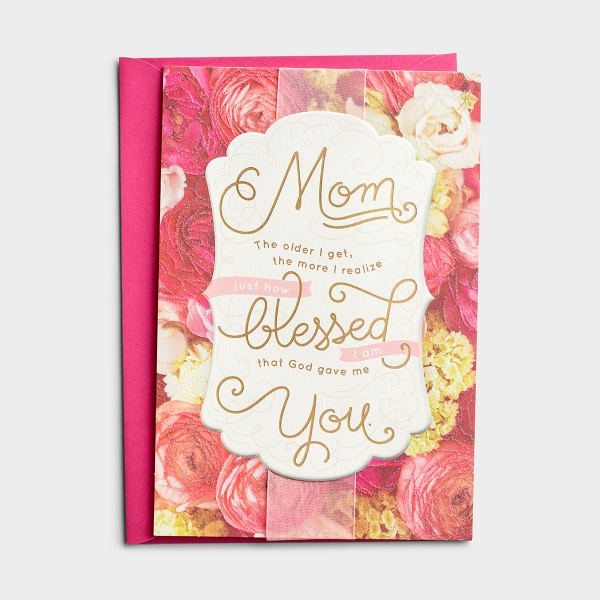 Mother's Day - Mom - The More I Realize - 1 Premium Card