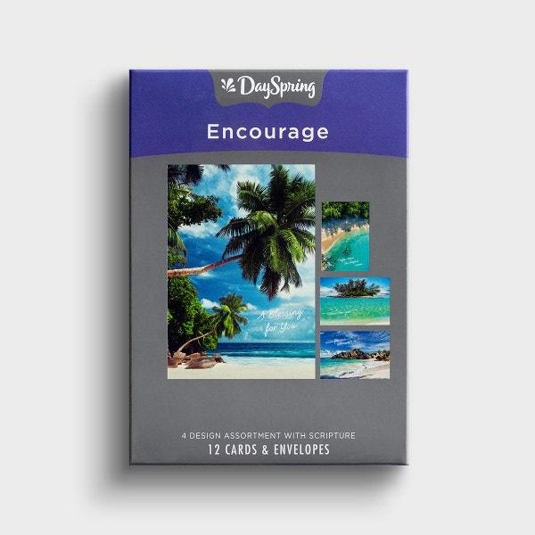 Encouragement - Love, Grace, Peace & Joy - 12 Boxed Cards