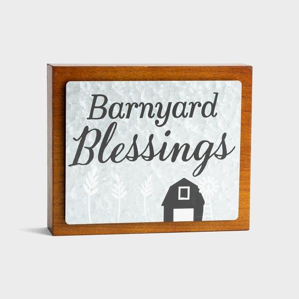 Barnyard Blessings - Wood & Metal Wall Art