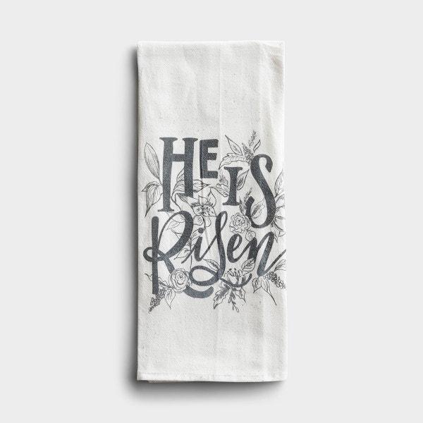 He Is Risen - Tea Towel