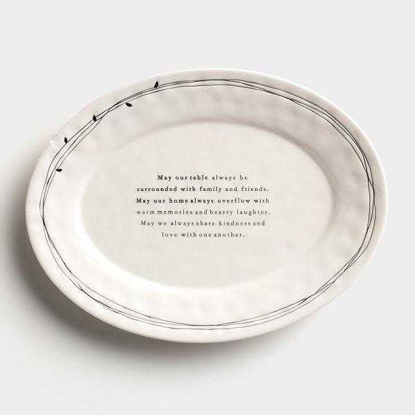 Family Blessings - Large Platter