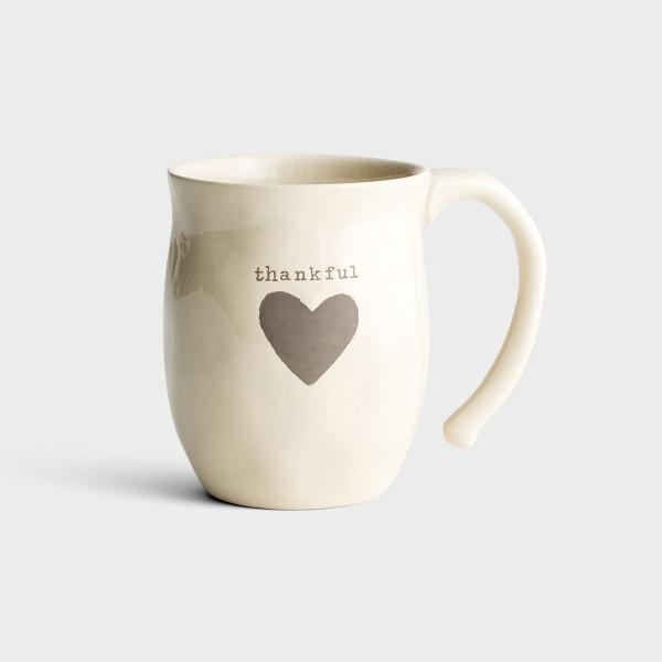 Thankful Heart - Stoneware Mug