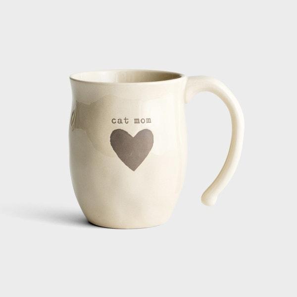 Cat Mom - Stoneware Mug