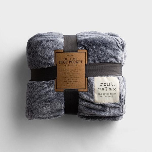 Me Time - Foot Pocket Blanket