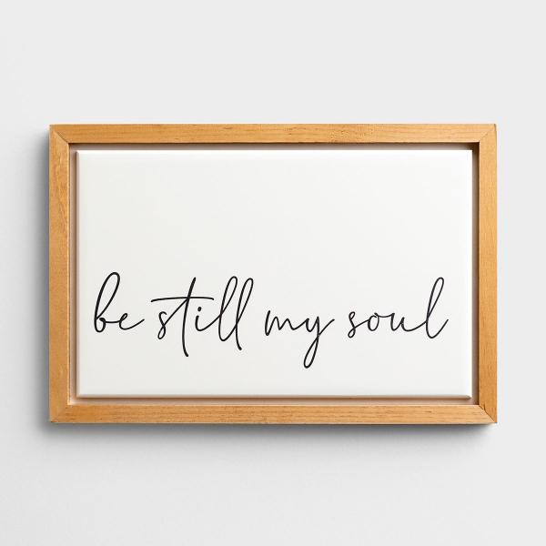 Be Still My Soul - Carved Framed Wall Art