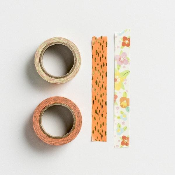 Floral - Planner Washi Tape, Set of 2