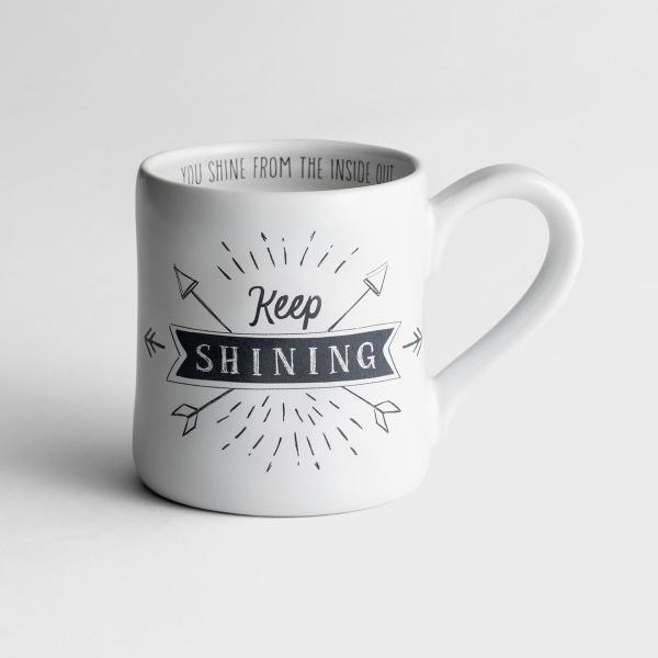 Keep Shining - Hand-Thrown Mug