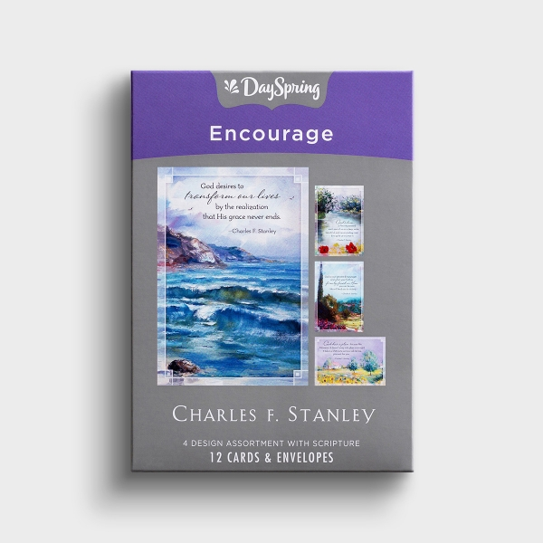 Charles F. Stanley - Encouragement - 12 Boxed Cards