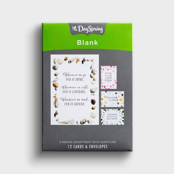 Blank - God's Goodness - 12 Boxed Cards