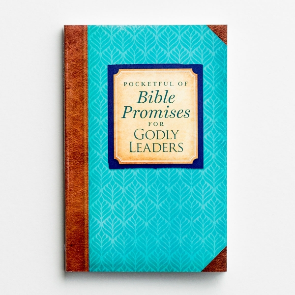 Pocketful of Bible Promises for Godly Leaders - Devotional Book