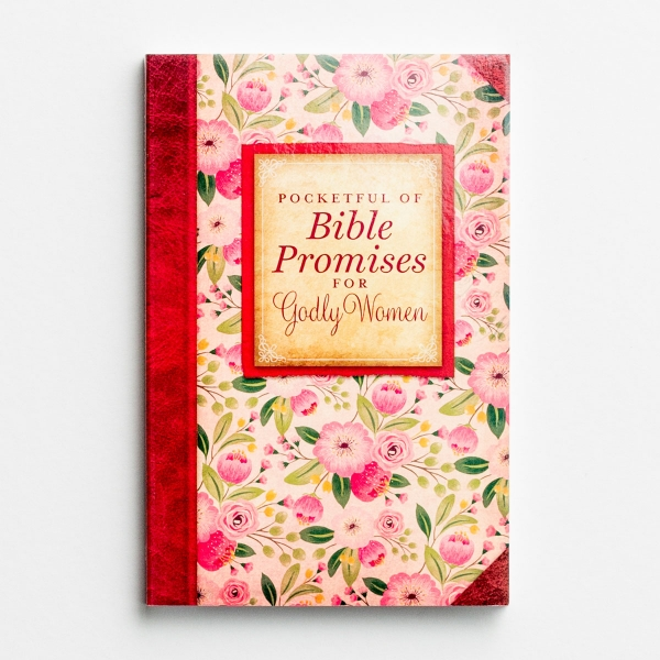 Pocketful of Bible Promises for Godly Women - Devotional Book