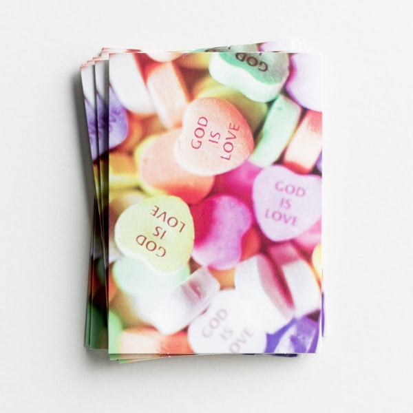 Valentine's Day - God Is Love - 10 Note Cards