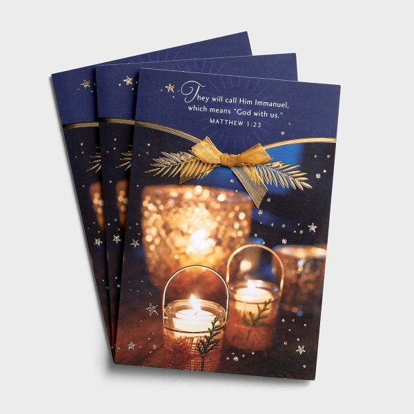 Christmas - They Will Call Him Immanuel - 3 Premium Cards