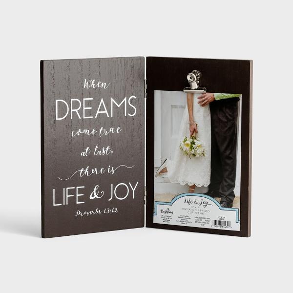 Life & Joy - Invitation Photo Frame
