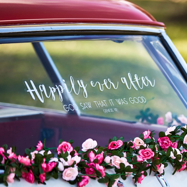 Happily Ever After - Window Cling