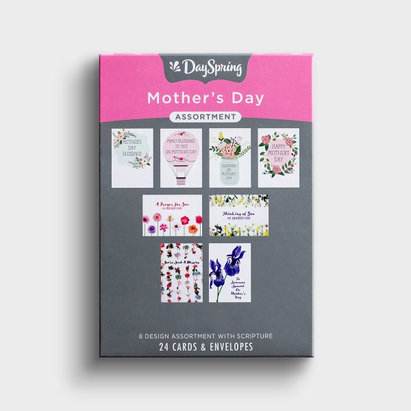 Mother's Day Assortment - 24 Boxed Cards