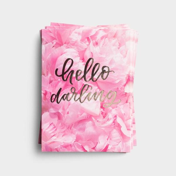 Hello Darling - 10 Premium Note Cards