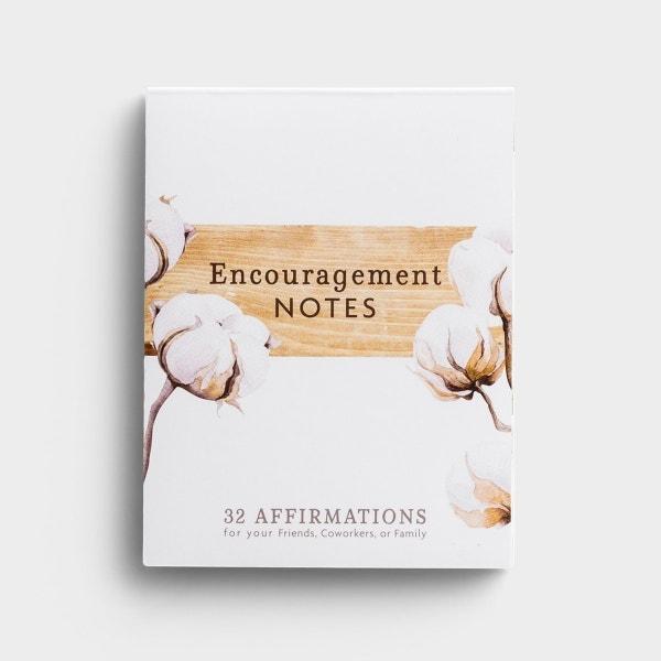 Encouragement - 32 Affirmation Note Cards